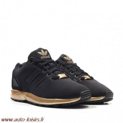 adidas femme zx flux noir et bronze