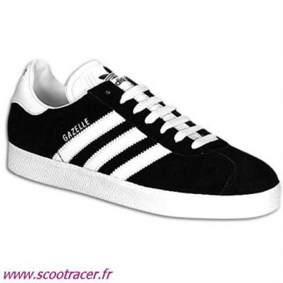 adidas gazelle noir blanc