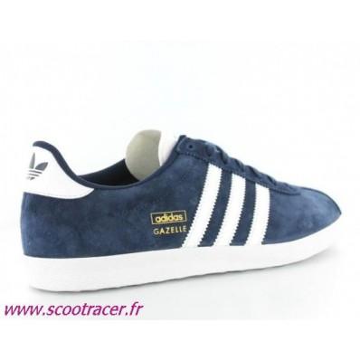 adidas gazelle og bleu marine cuir