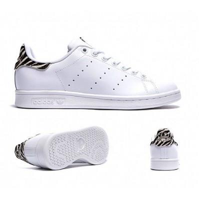 adidas stan smith animal zebre blanc