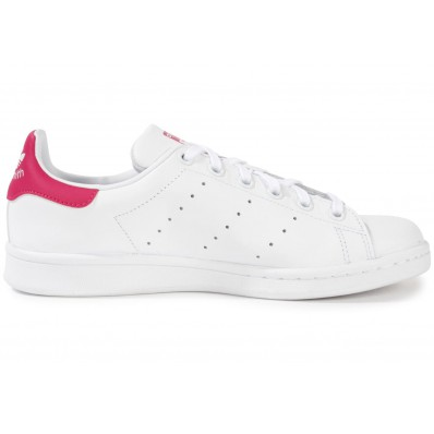 adidas stan smith blanc rose
