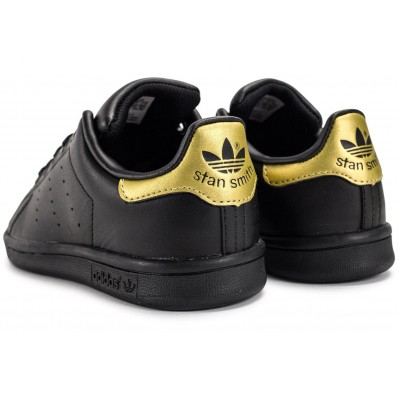 adidas stan smith noir doré