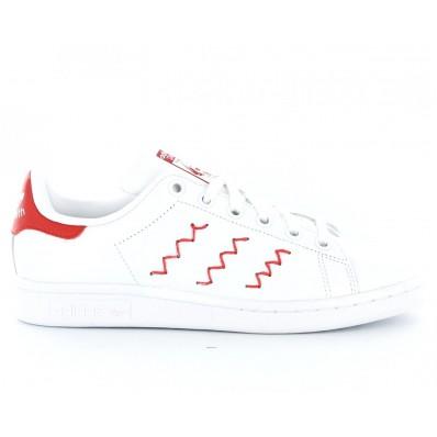 adidas stan smith zig zag rouge