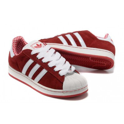 adidas superstar 2 rouge