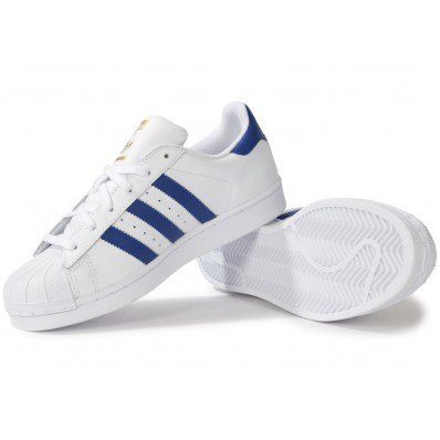 adidas superstar bleu