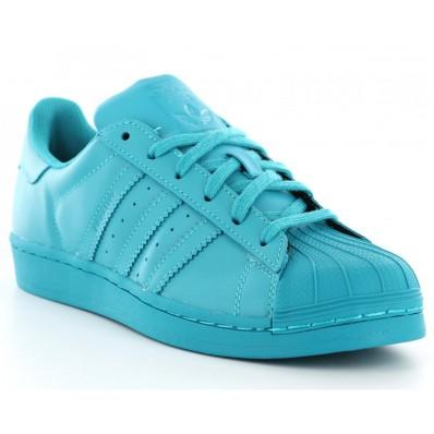 adidas superstar supercolor femme bleu