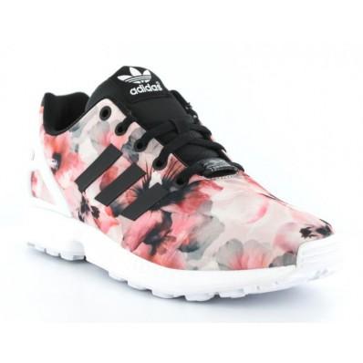 adidas zx flux femme noir rose et blanc