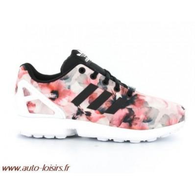 adidas zx flux floral femme pas cher