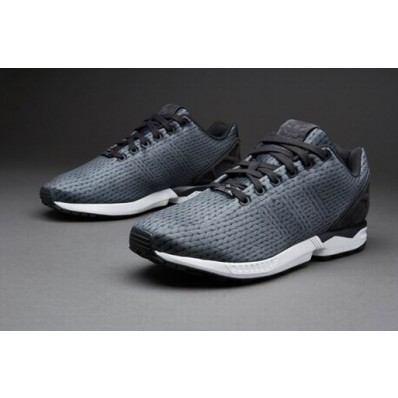 zx flux homme blanche