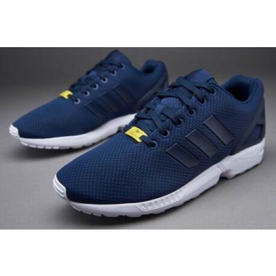 adidas zx flux homme bleu