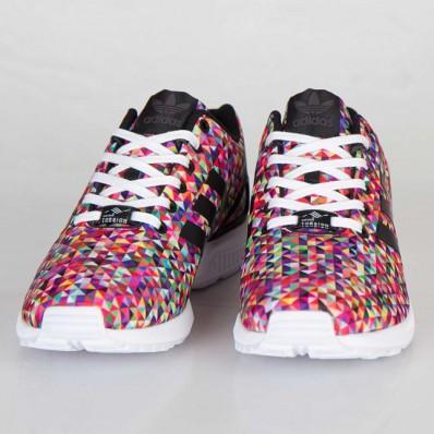 adidas zx flux multicolor prism femme