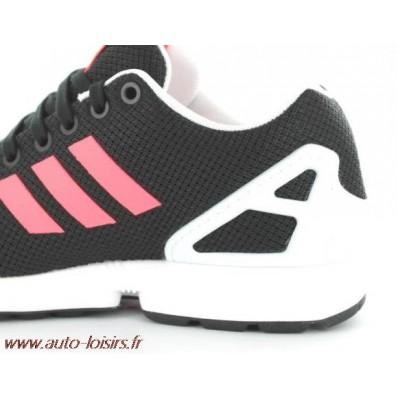 adidas zx flux noir et rose fluo pas cher