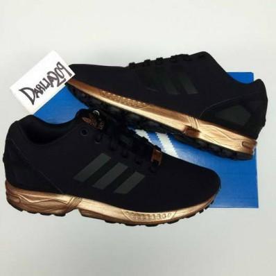 chaussure adidas femme noir et doré