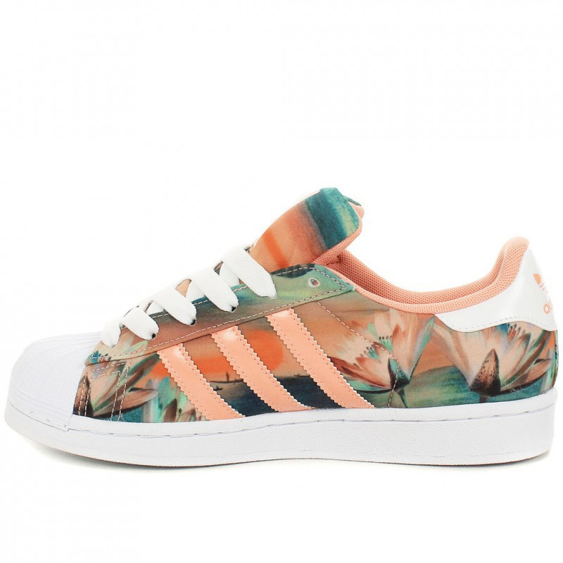 adidas fleuri superstar