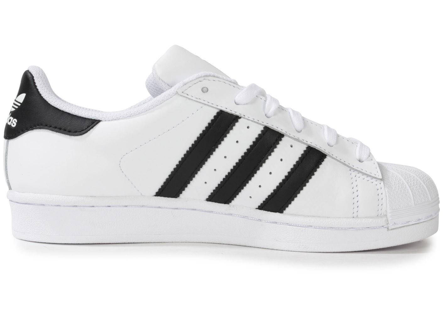 adidas superstar noires et blanches