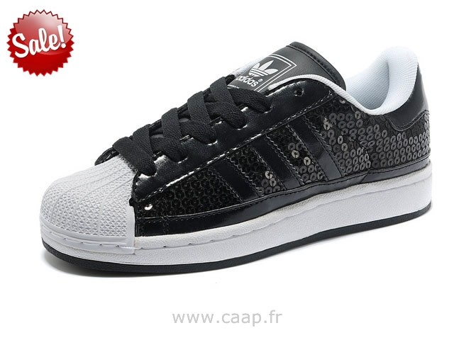 adidas superstar noir paillette