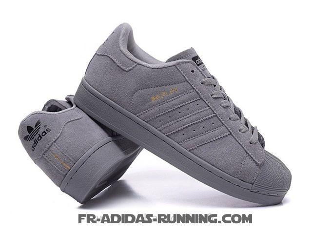 site réputé d67ef ccba5 adidas superstar toute grise