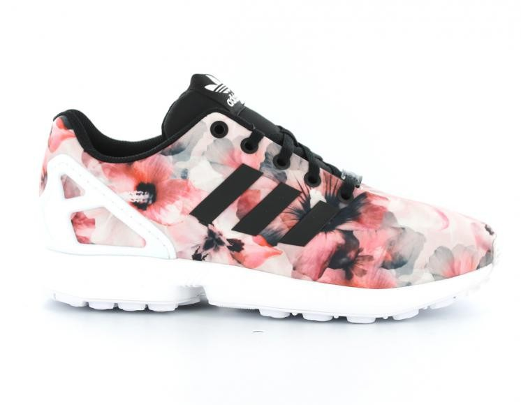 adidas zx flux noir fleur