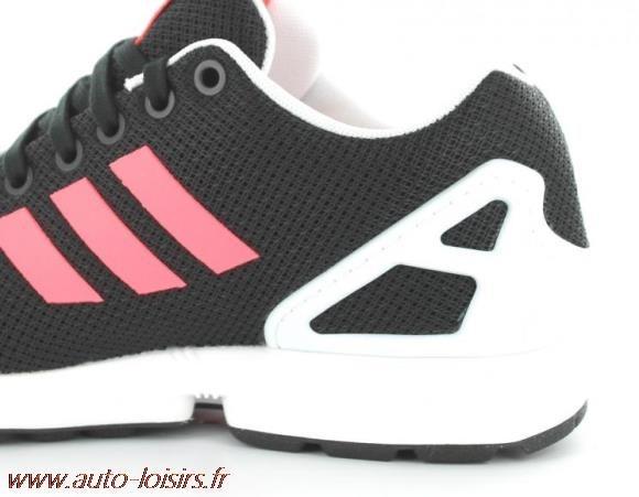 adidas zx flux noir et rose fluo