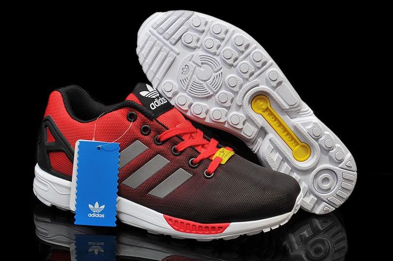 plus de photos 828dc e7978 adidas zx flux rouge et noir pas cher