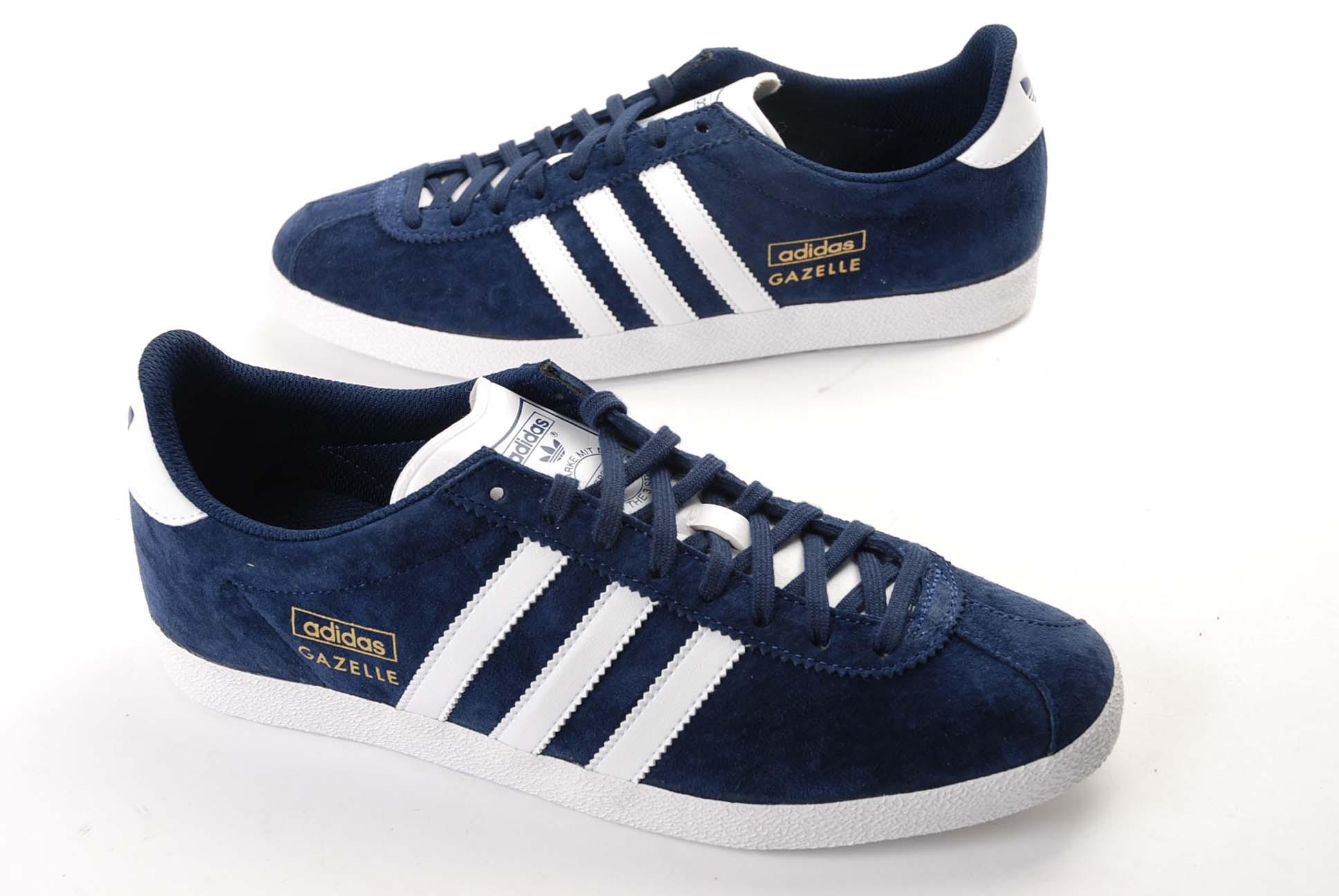 Adidas Pas Gazelle Chaussure Cher Bleu rCsxhtQd