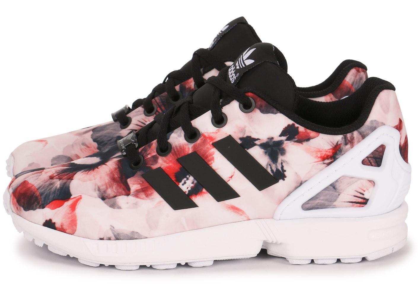adidas zx flux femmes fleur
