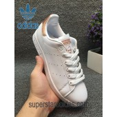 adidas stan smith rose gold femme