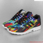 adidas zx flux multicolor torsion