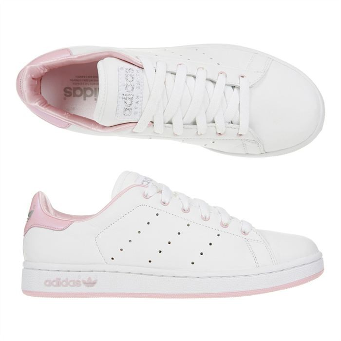 ... sale adidas stan smith femme blanc et rose a0eb6 75802 new ... e66e60b6ba7d