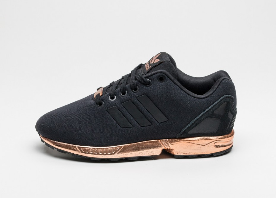 france adidas zx flux rose gold and schwarz 0cbc4 3ea92