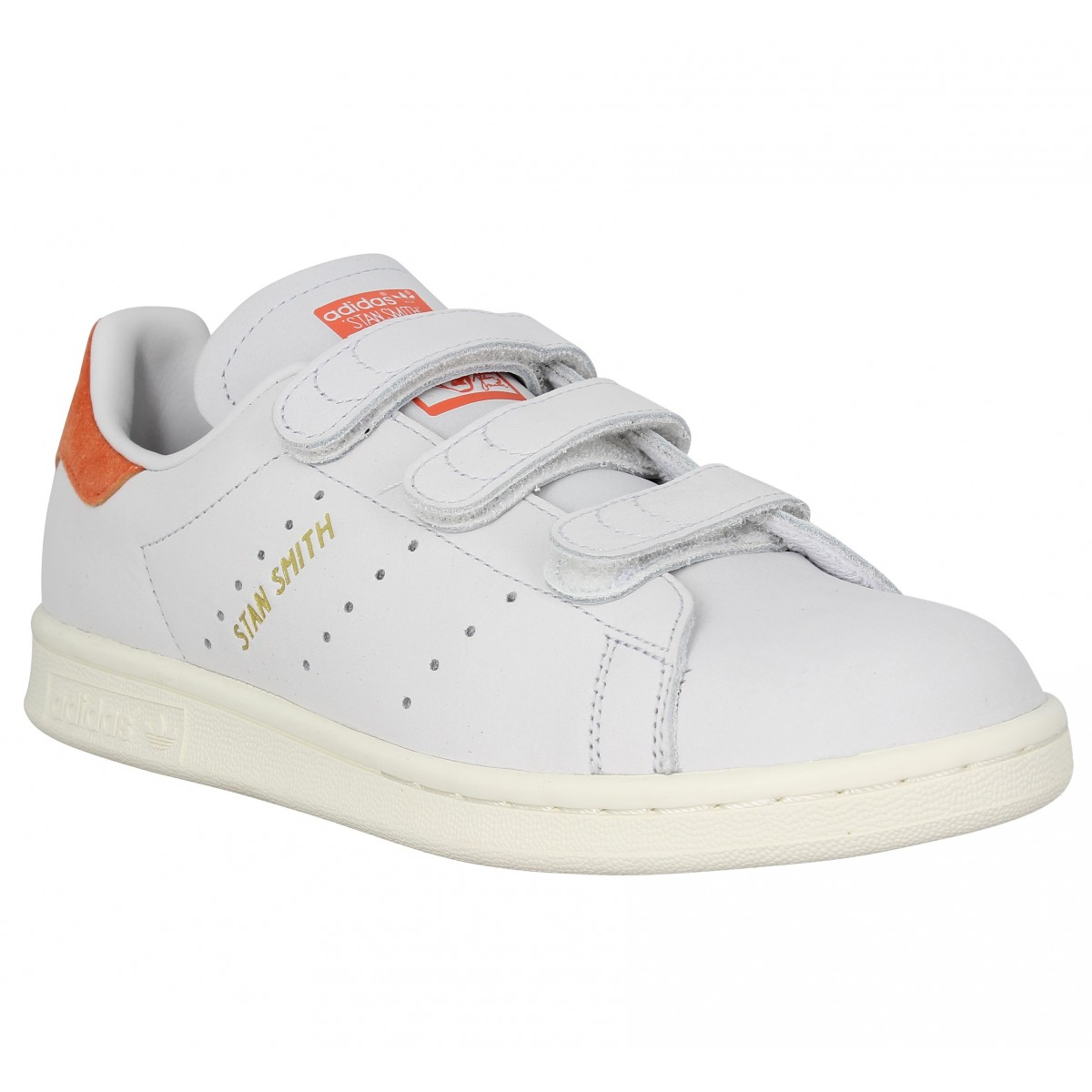 stan smith blanche scratch
