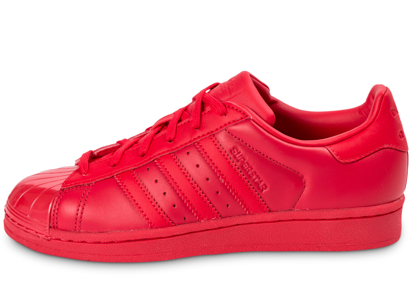 adidas superstars rouge